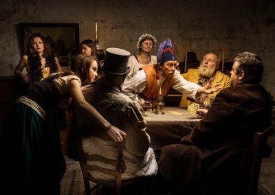 Les Thénardier - Au sergent de Waterloo