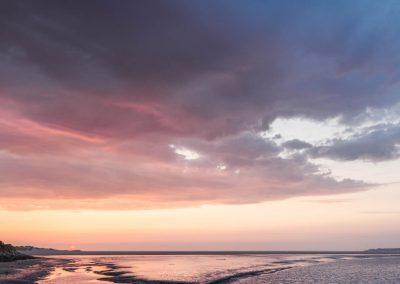 Ciel d'ambre - Baie de Canche