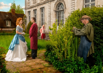 BB-ACARY - la comtesse - au jardin